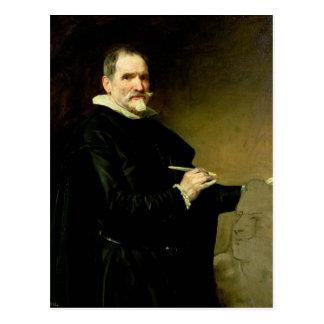 Cartão Postal Retrato do escultor, Juan Marti'nez