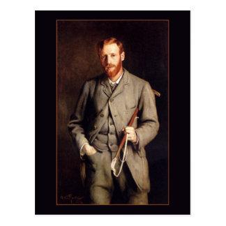 Cartão Postal Retrato do irmão pelo corte de Arthur