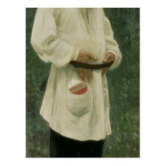 Cartão Postal Retrato do lev Tolstoy 1901