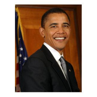 Cartão Postal Retrato do oficial de Barack Obama