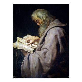 Cartão Postal Retrato do óleo de Simon Peter Paul Rubens do