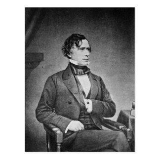 Cartão Postal Retrato do presidente Franklin Pierce por M Brady