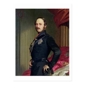 Cartão Postal Retrato do príncipe Albert (1819-61) 1859 (óleo em