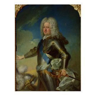 Cartão Postal Retrato do rei de Estanislau Lesczinski do Polônia
