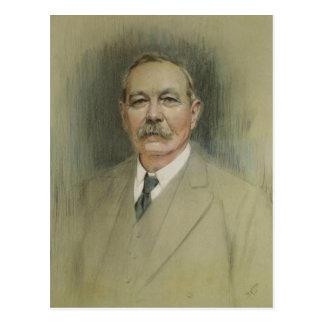 Cartão Postal Retrato do senhor Arthur Conan Doyle