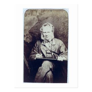 Cartão Postal Retrato do senhor Edwin Landseer (1802-73) (albume