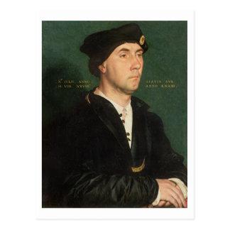 Cartão Postal Retrato do senhor Richard Southwell (1504-64) 1536