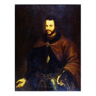 Cartão Postal Retrato do Tsar Ivan o V Alexeyevich