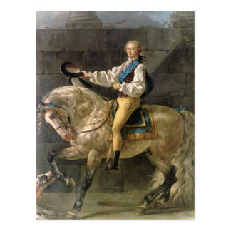 Cartão Postal Retrato equestre de Estanislau Kostka