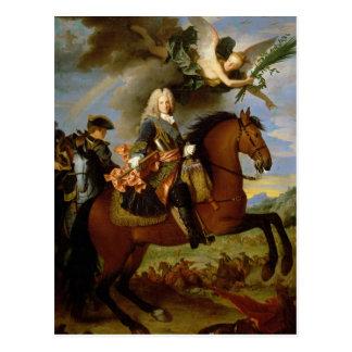 Cartão Postal Retrato equestre de Philip V