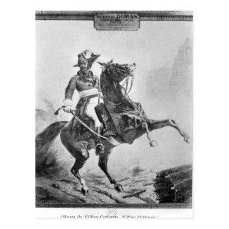 Cartão Postal Retrato equestre de Thomas Alexandre