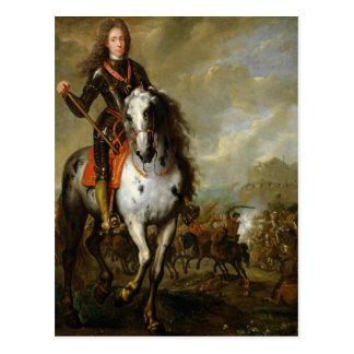 Cartão Postal Retrato equestre do príncipe Eugene