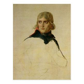 Cartão Postal Retrato inacabado do general Bonaparte