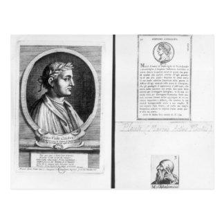 Cartão Postal Retratos de Horace Scipio Aemilianus