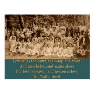 Cartão Postal Reunião de acampamento do Condado de York