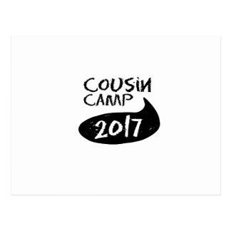 Cartão Postal Reunions de família para o acampamento das avós