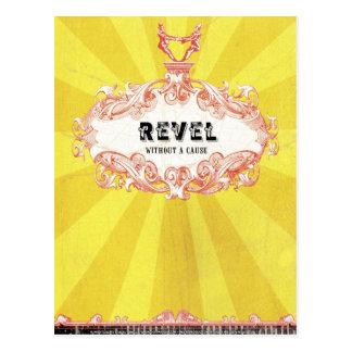 Cartão Postal Revel sem uma causa (o cartão)