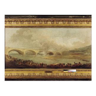 Cartão Postal Revelacão do Pont de Neuilly, 1772