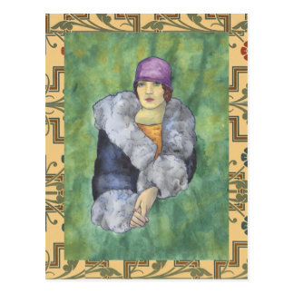 Cartão Postal Revestimento da tia Bette