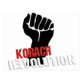 Cartão Postal Revolução de Korach
