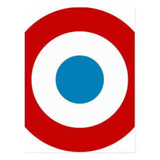 Cartão Postal Revolução Francesa Roundel France Cocarde
