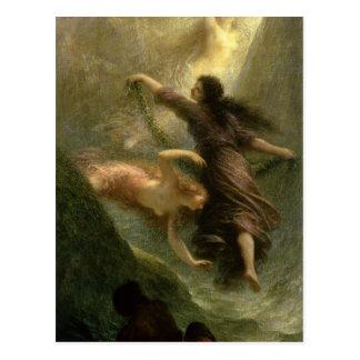 Cartão Postal Rheingold, primeira cena, 1888