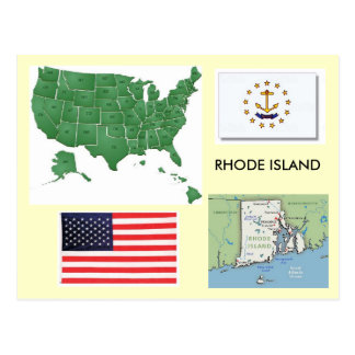 Cartão Postal Rhode - ilha, EUA