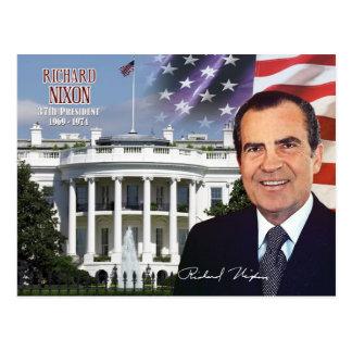 Cartão Postal Richard Nixon - 37th presidente dos E.U.