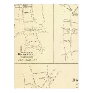 Cartão Postal Ridgefield, Newton, Darien