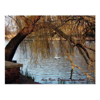 Cartão Postal Rio de Avon, Stratford-em cima-Avon
