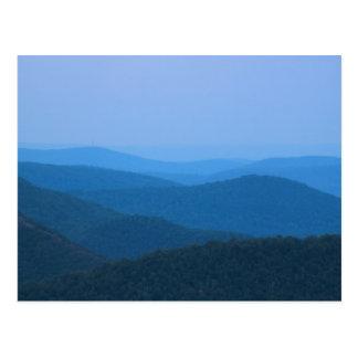Cartão Postal Rio de Deerfield da montanha do leste Berkshires