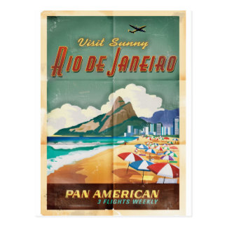 Cartão Postal Rio de Janeiro