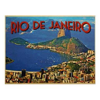 Cartão Postal Rio de Janeiro Brasil