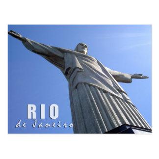 Cartão Postal Rio de Janeiro - cristo o redentor