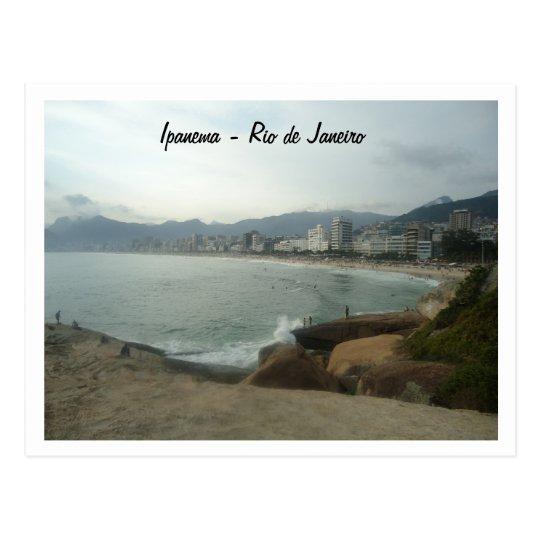 Cartão Postal Rio de Janeiro - Ipanema