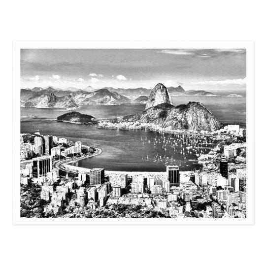 Cartão Postal Rio de Janeiro - Retrô