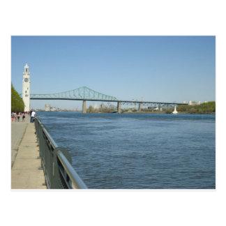 Cartão Postal Rio de Saint Laurent, Montreal