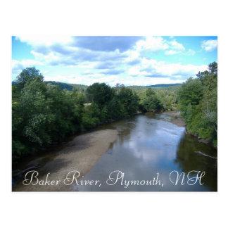Cartão Postal Rio do padeiro, Plymouth, NH