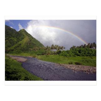 Cartão Postal Rio em Teahupoo, Tahiti