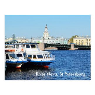 Cartão Postal Rio Neva, St Petersburg