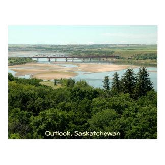 Cartão Postal Rio sul de Saskatchewan