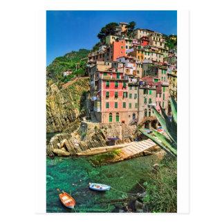 Cartão Postal Riomaggiore