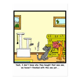 Cartão Postal Risco-cargo