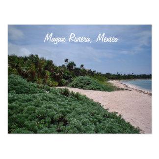 Cartão Postal Riveria maia, México