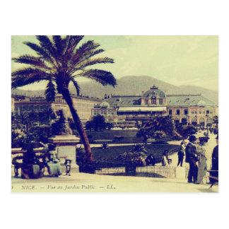 Cartão Postal Riviera francês agradável