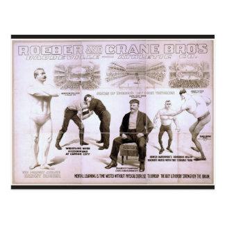 Cartão Postal Rober e guindaste Bros