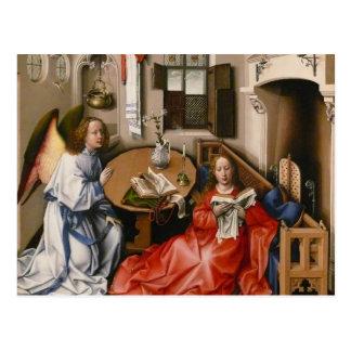 Cartão Postal Robert Campin- o Altarpiece de Mérode - aviso