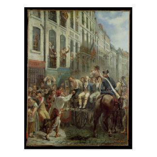 Cartão Postal Robespierre e Santo-Apenas