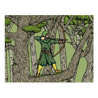 Cartão Postal Robin Hood