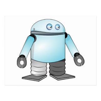 Cartão Postal Robô dos desenhos animados